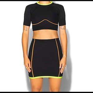 Adidas Ivy Park Black Skirt (XS) NWT